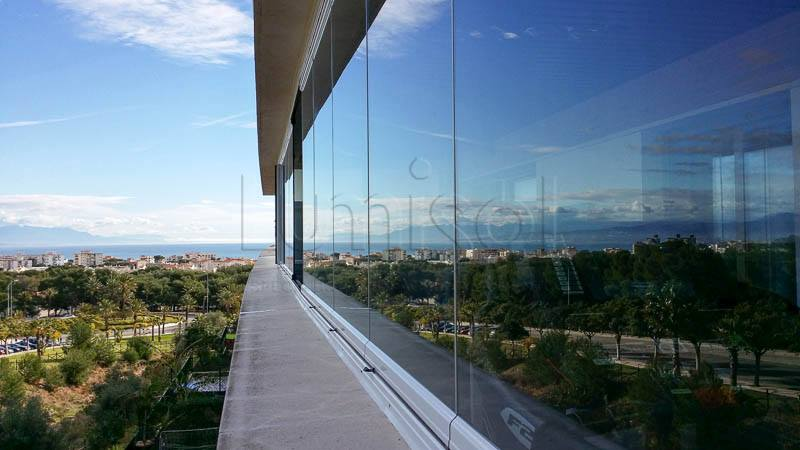 Cortinas de cristal en Marbella